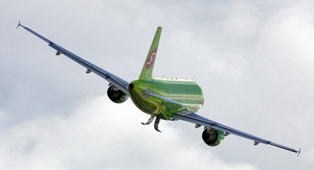Un avion de la compagnie S7