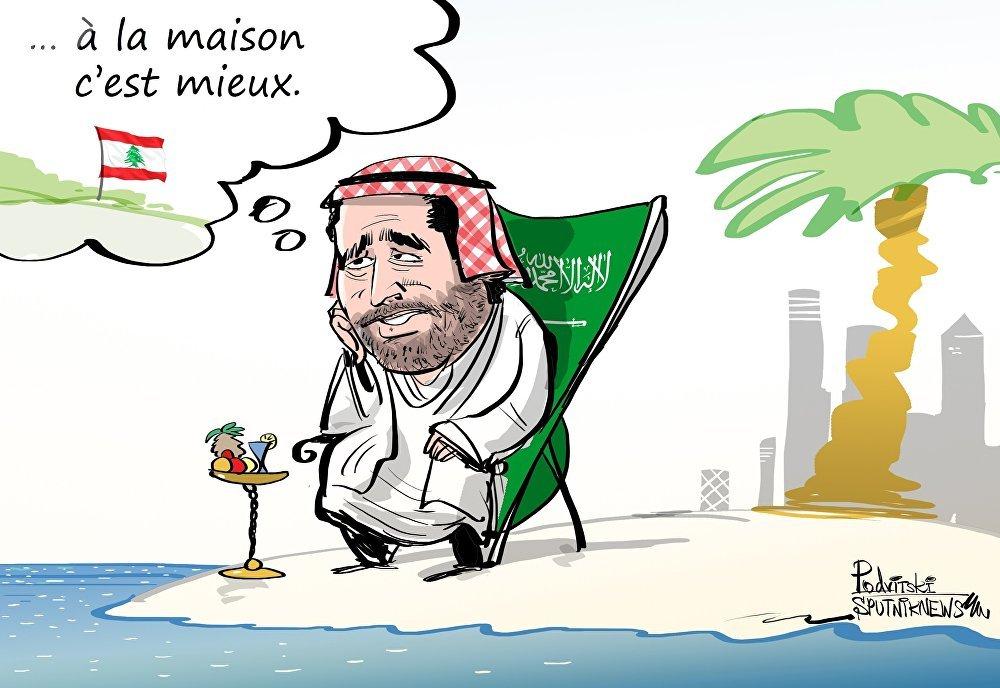 Le chef du gouvernement libanais Saad Hariri serait assigné à résidence en Arabie saoudite et ne peut donc pas rentrer au Liban