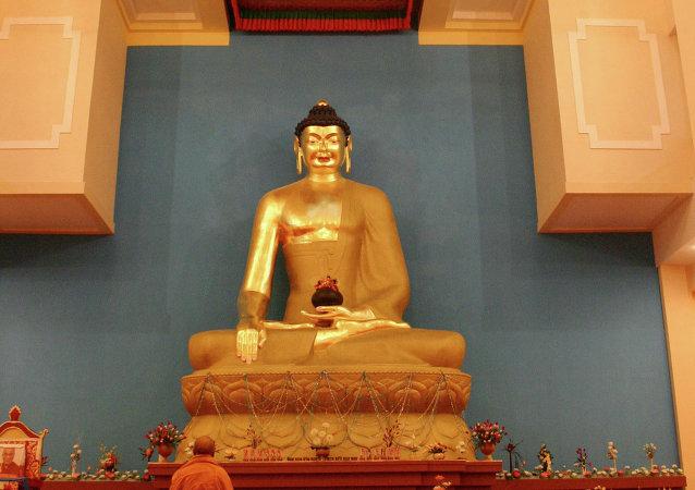 la statue de Buddha