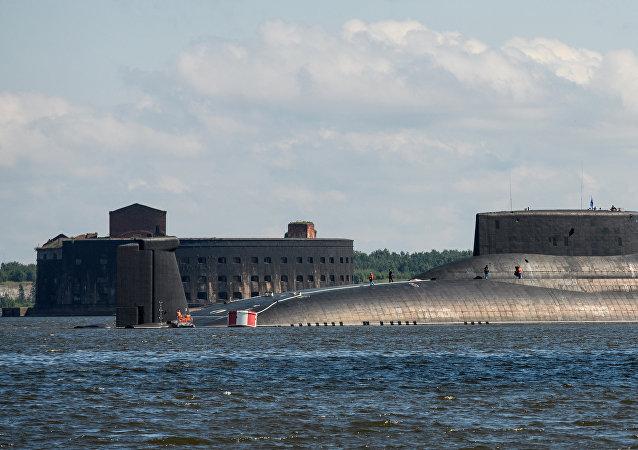 Le sous-marin «Dimitri Donskoï»