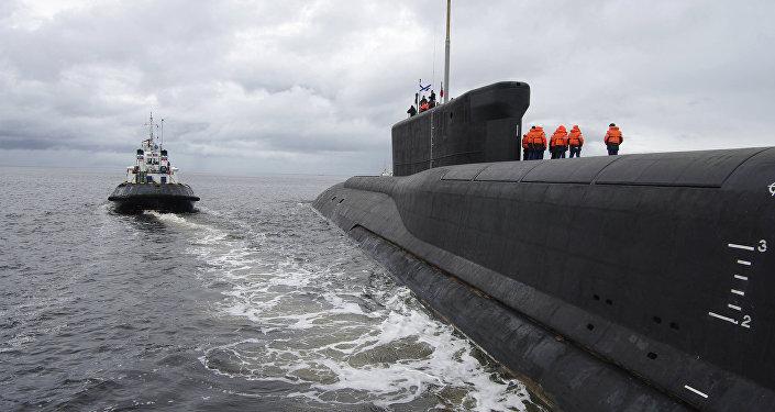 Le sous-marin de classe Borei Iouri Dolgorouki