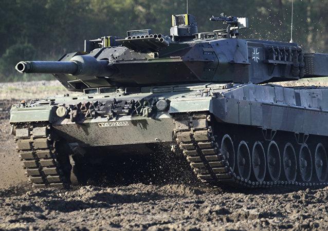 Les chars allemands Leopard 2 les plus modernes ne seraient pas en état opérationnel