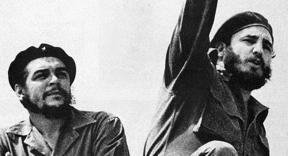 Che Guevara et Fidel Castro