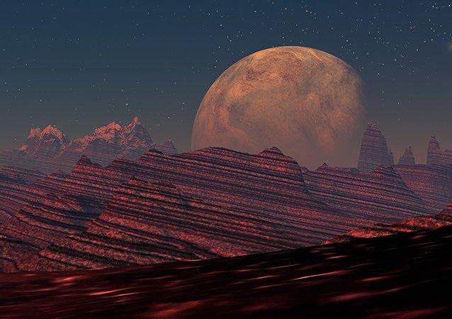 Mars (Symbolbild)