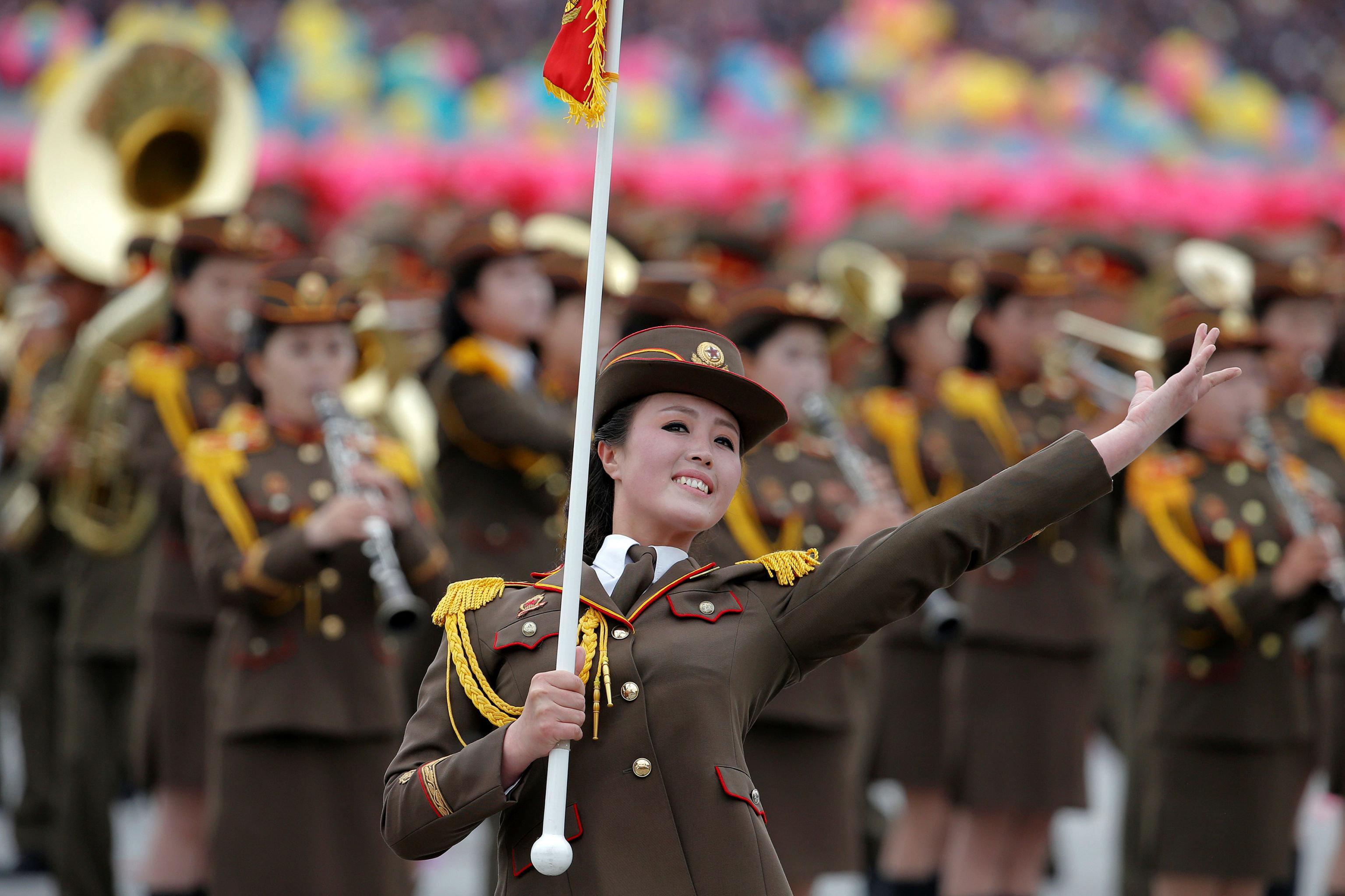 Un défilé à Pyongyang