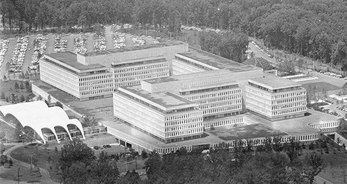 Le siège de la CIA à Langley, en Virginie