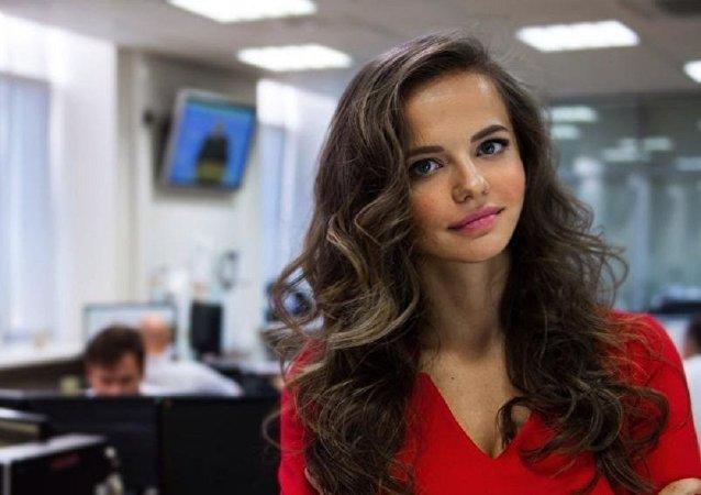 La nouvelle porte-parole du ministère de la Défense russe Rossiana Markovskaya