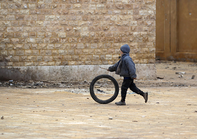 Un village de la province syrienne d'Alep