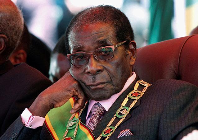 Le président du Zimbabwe, Robert Mugabe