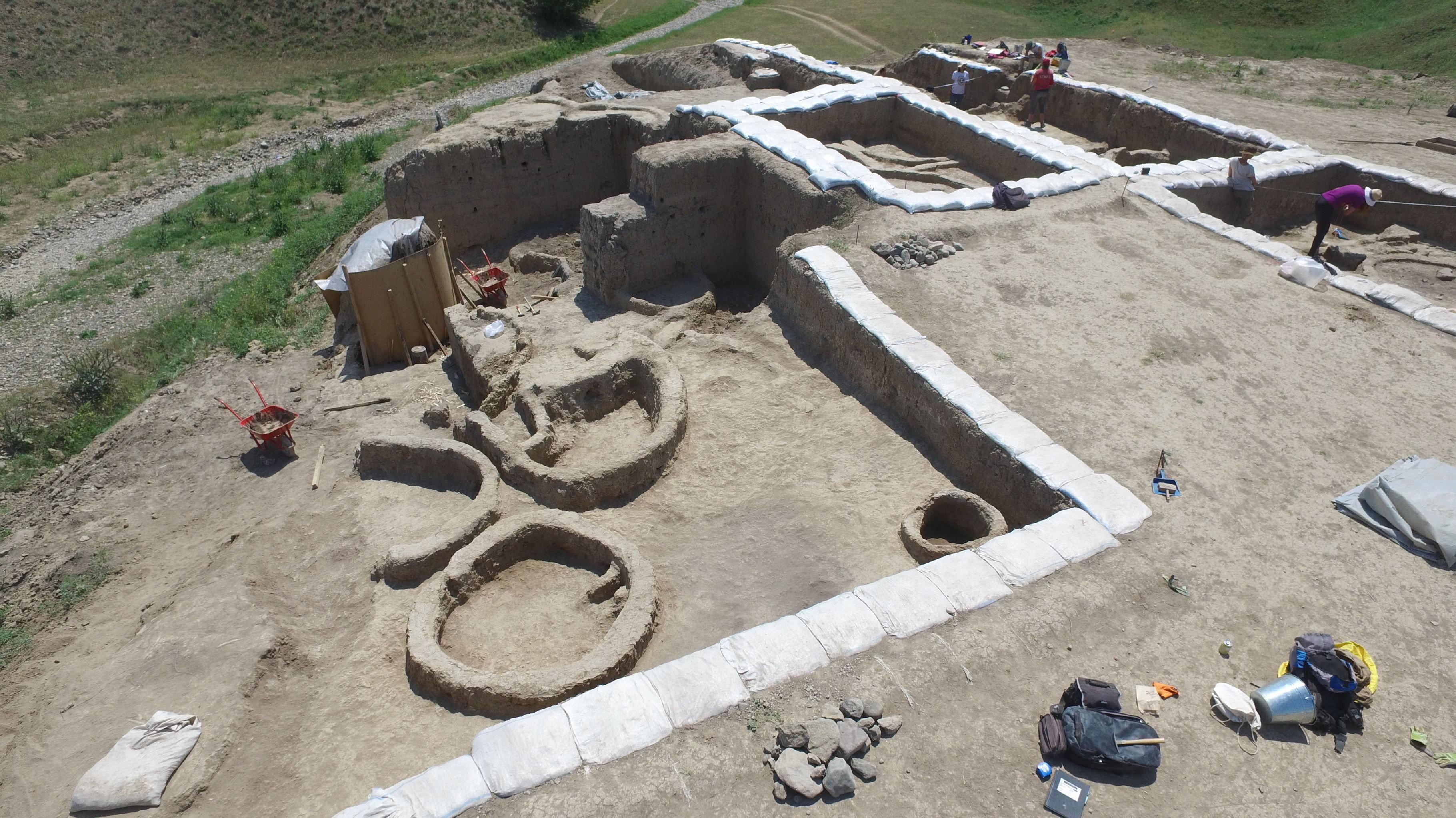 Fouilles archéologiques, Géorgie