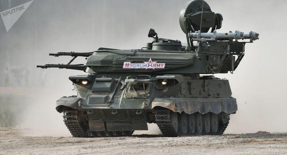 Le véhicule d'artillerie Chilka