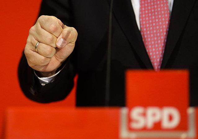SPD-Zentrale zu ersten Bundestagswahl-Schätzungen