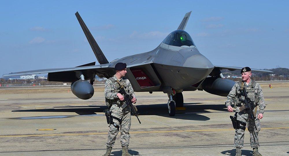 US F-22, Corée du Sud