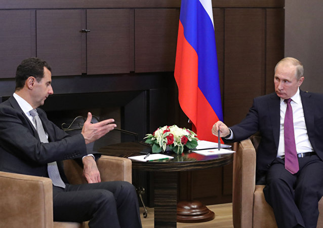 Bachar el-Assad s'est rendu en Russie pour rencontrer Vladimir Poutine
