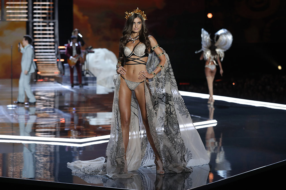 Les «anges» de Victoria's Secret à Shanghai