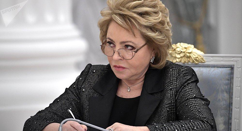 Présidente du Conseil de la Fédération, Valentina Matvienko