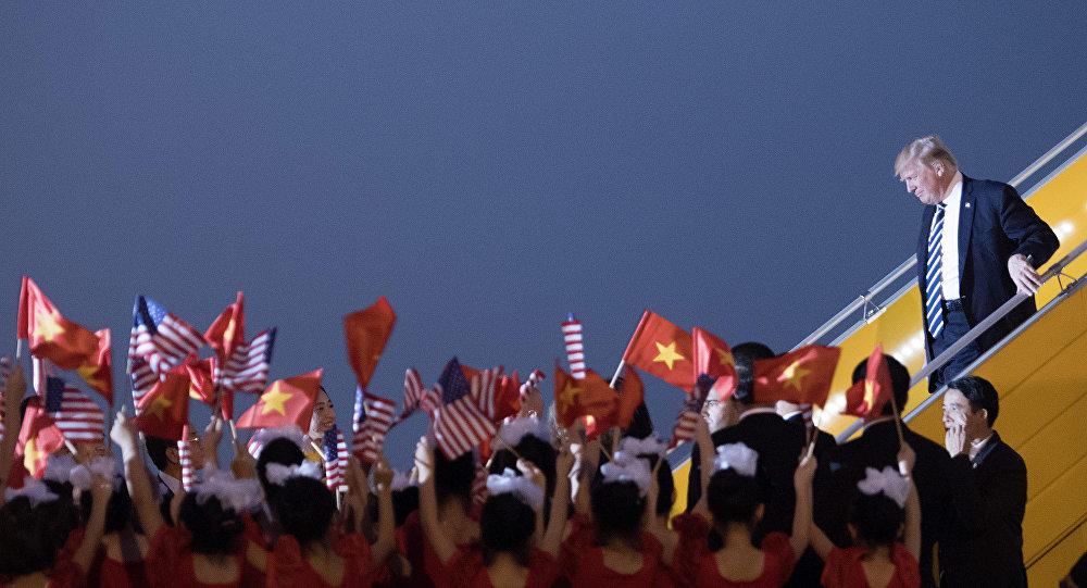 Donald Trump au Vietnam