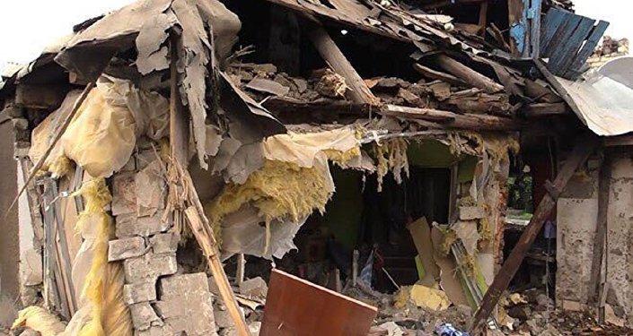 La maison d'Anna Tuv ou ont péris les membres de sa famille