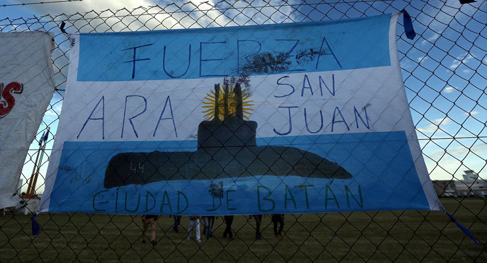 Sur la piste d'un bruit inquiétant — Sous-marin argentin