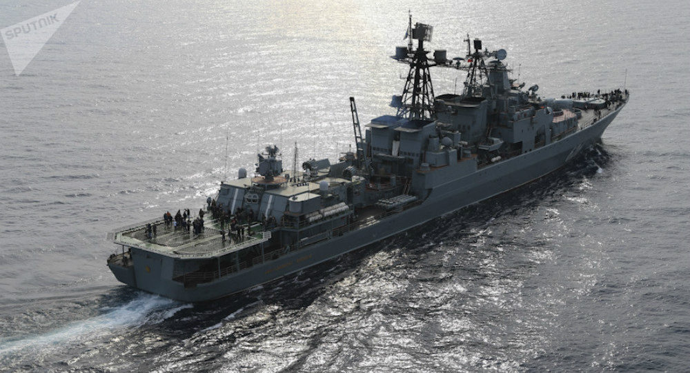 Le destroyer russe Vice-Amiral Koulakov