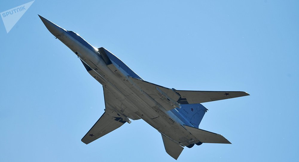 Un bombardier à long rayon d'action Tu-22M3 (image d'archives)