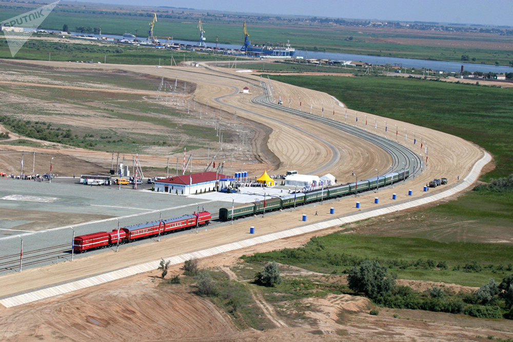 La construction du corridor de transport international «Nord-Sud» en Russie