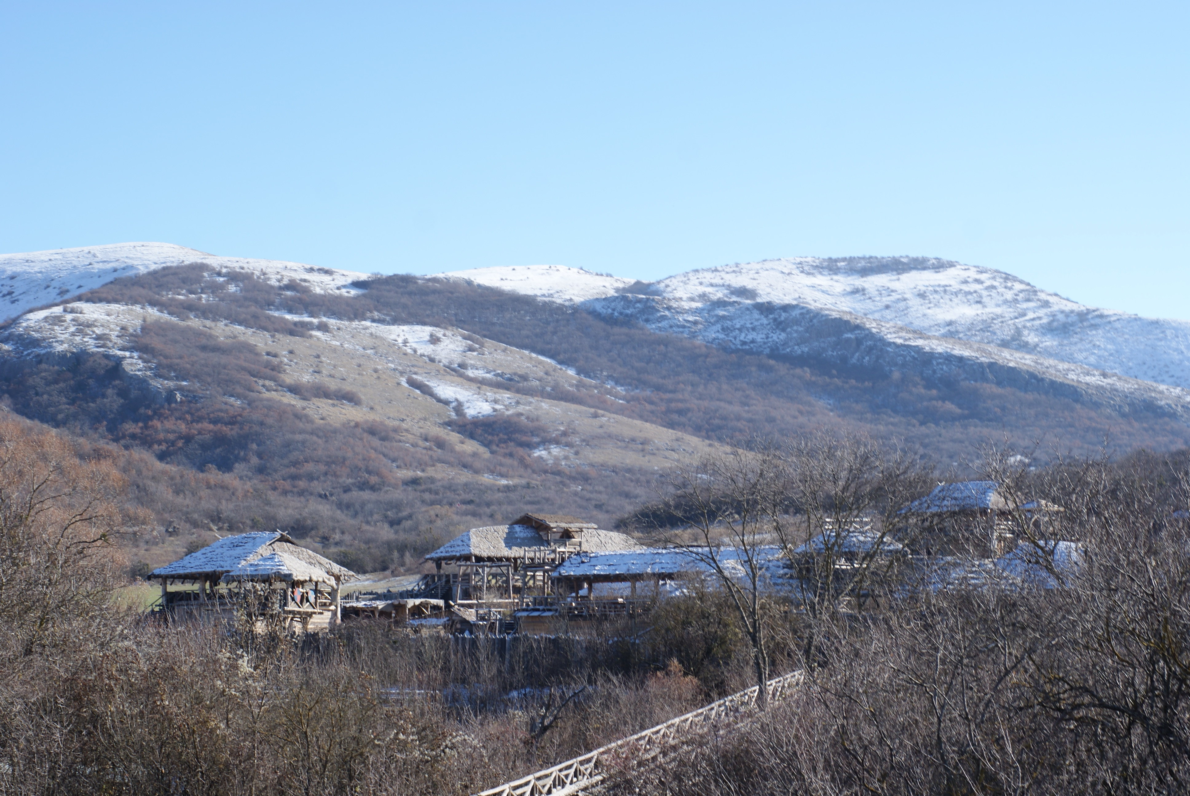 Les montagnes en Crimée