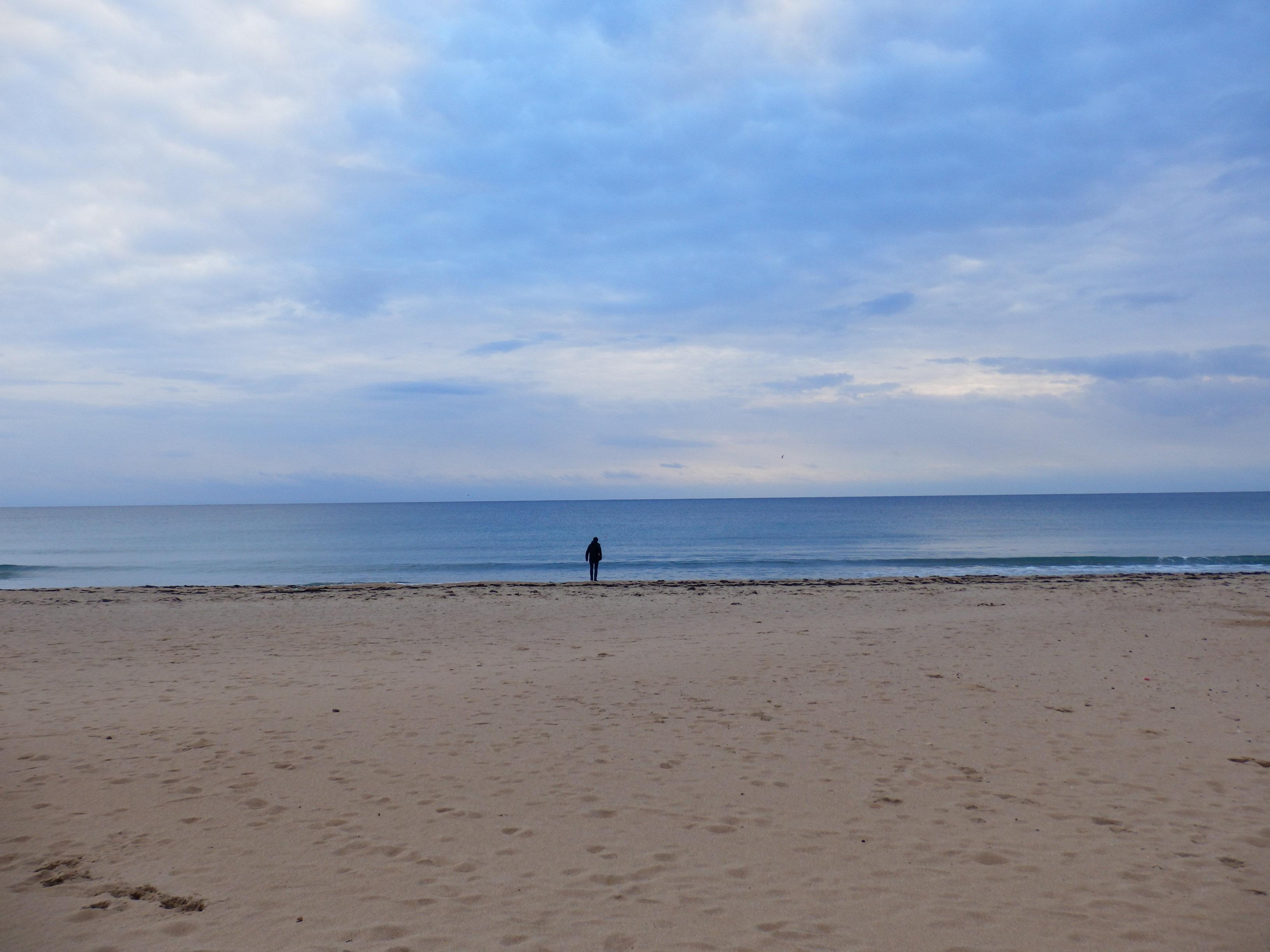 Une plage criméenne