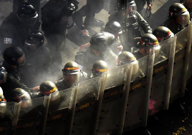 militaires vénézuéliens