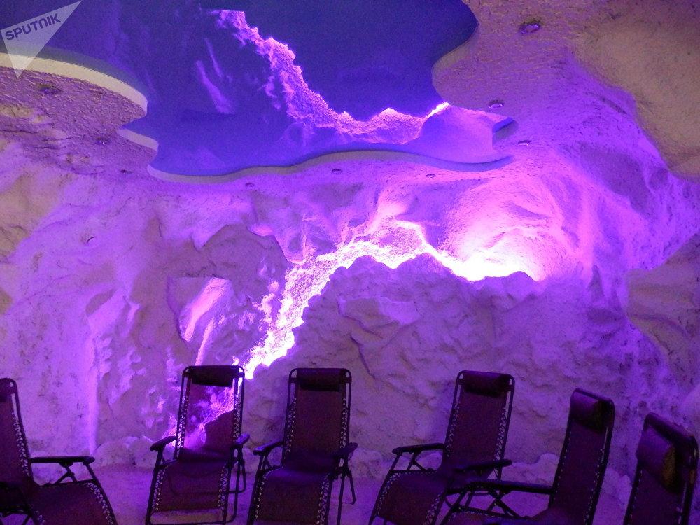 Une cave de sel