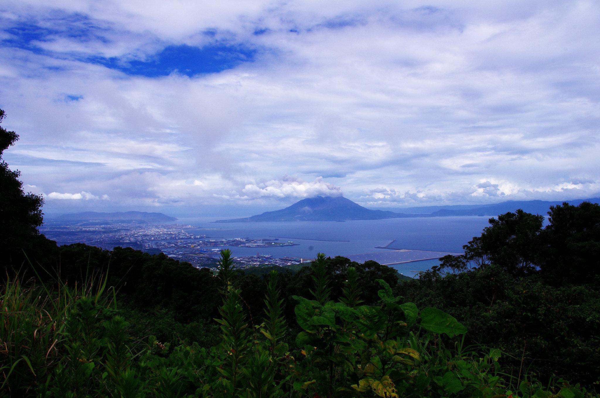 Le volcan japonais Sakurajima