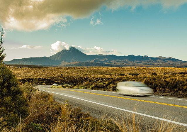 Le mont Tongariro, en Nouvelle Zélande