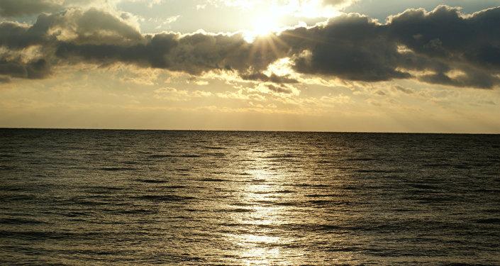 Le lever de soleil en Crimée