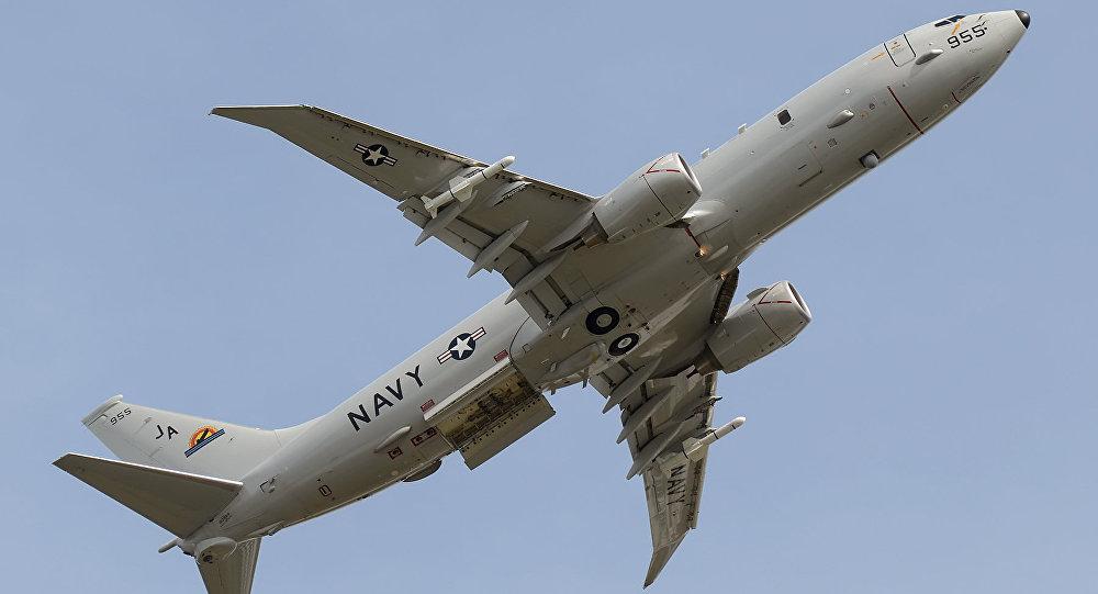 Un avion espion américain P-8A Poseidon (archive)