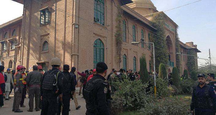l'Université d'agriculture de Peshawar