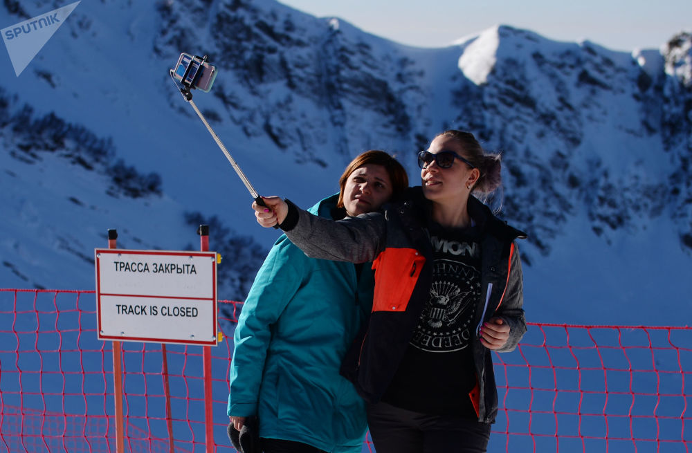 Ouverture de la saison de ski à Gorki Gorod à Sotchi
