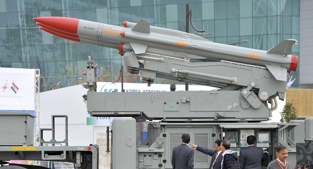 Un missile sol-air indien Akash