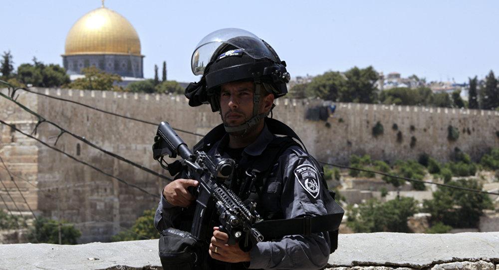 policier israélien