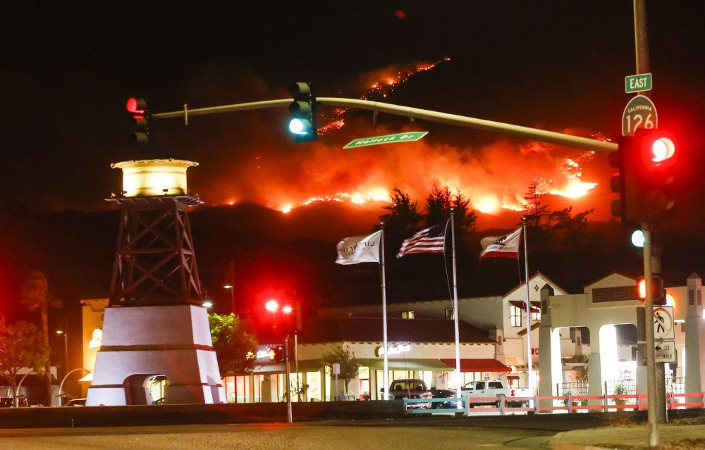 Les feux de forêt en Californie