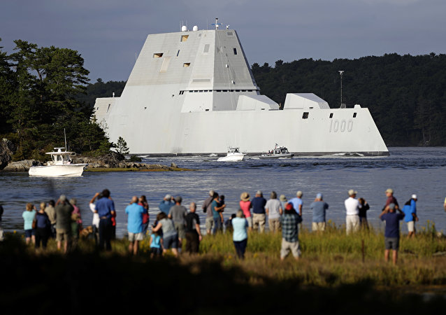 Le super-destroyer Zumwalt