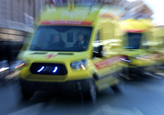 Une ambulance russe