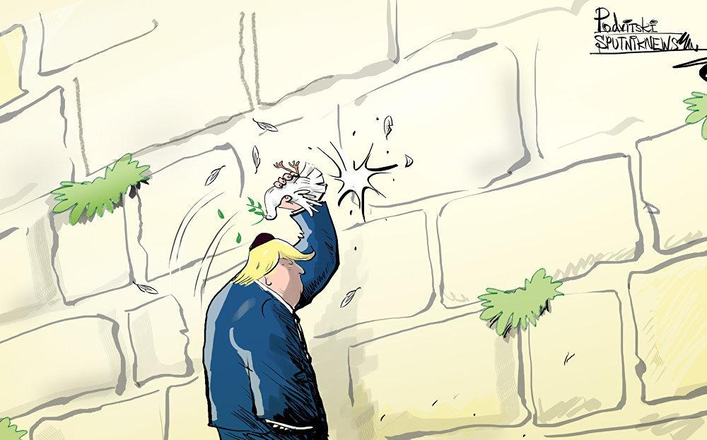 Donald Trump a déclaré que les États-Unis ont reconnu Jérusalem comme capitale d'Israël
