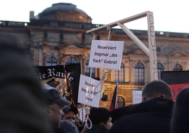 Les «potences pour Merkel» autorisées en Allemagne
