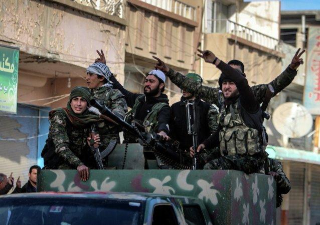 Combattants des YPG