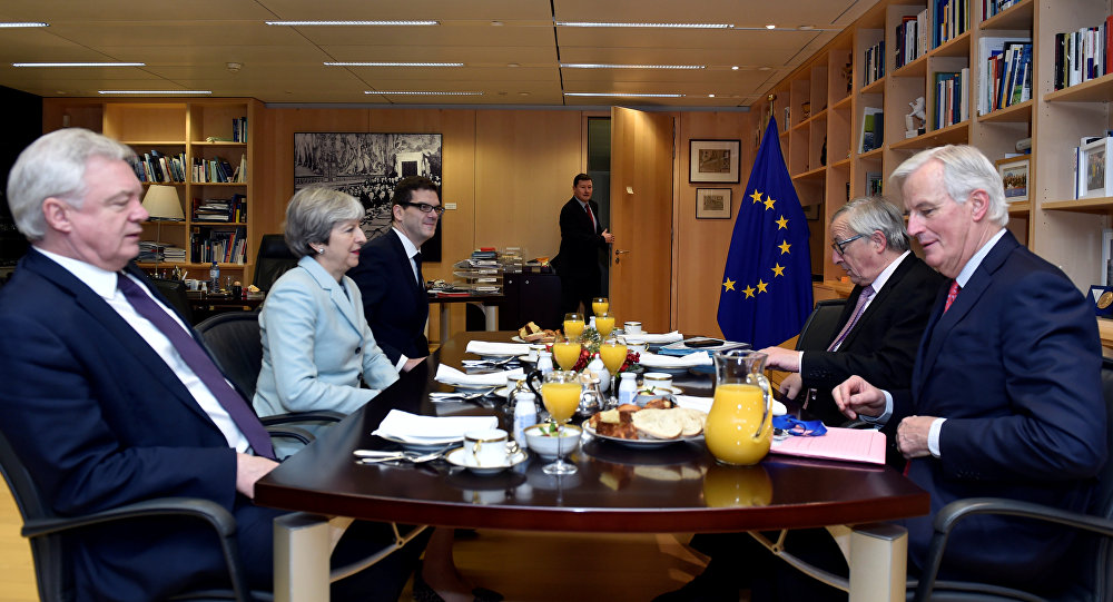 discussions sur le Brexit