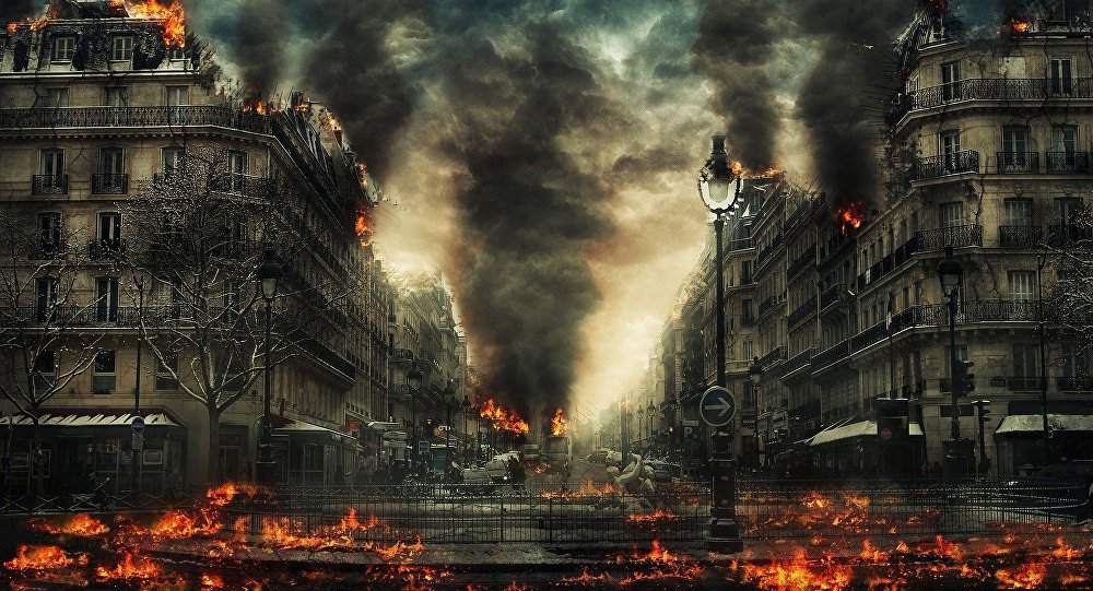 Apocalypse, image d'illustration