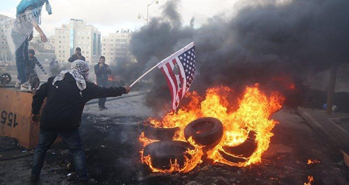 Jérusalem,manifestants