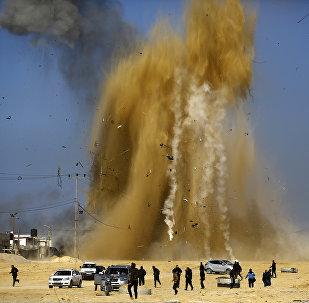 Frappe israélienne sur les positions du Hamas