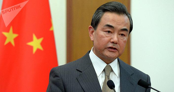 Le ministre chinois des Affaires étrangères Wang Yi