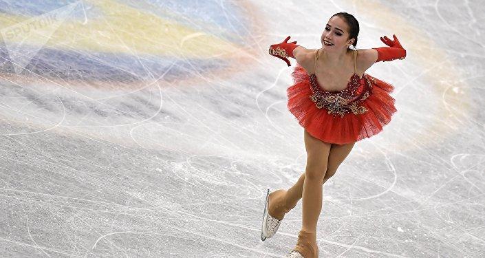 Alina Zagitova à Nagoya